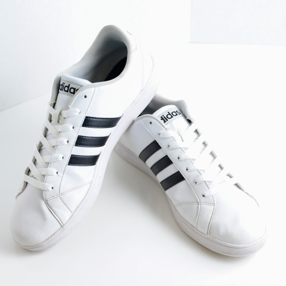 competitive price e2862 679af adidas Other - Men s Adidas Neo Baseline White Cloudfoam SZ 11.5